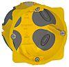Legrand Ecobatibox Yellow Plastic Back Box, NF, IP00,
