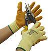 BM Polyco Matrix Orange Latex Coated Polycotton Work Gloves, Size 10, Large, 10 Gloves