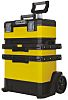 Stanley Tools Rolling Workshop Plastic Tool Box, 570