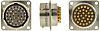 Amphenol, 62GB 32 Way Box Mount MIL Spec