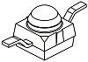 VSMG2000X01 Vishay, 870Nm IR LED, Subminiature SMD package
