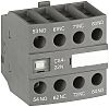 ABB Auxiliary Contact - 3NO/NC, 4 Contact, Front
