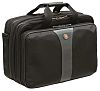 Wenger Legacy 17in Laptop Briefcase, Black