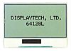 Displaytech 64128L FC BW-3 Graphic LCD Display, White