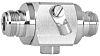 Telegärtner Überspannungsschutzeinheit, Transienten Spannungsbegrenzer 230 V, Frontplattenmontage