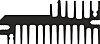 Heatsink, 3.1K/W, 100 x 27 x 60mm, Clip
