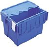 Schoeller Allibert 25L Blue PP Medium Storage Box,