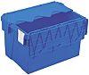 Schoeller Allibert 65L Blue PP Large Storage Box,