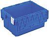 Schoeller Allibert 54L Blue PP Storage Box, 600mm