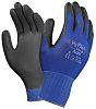 Ansell Hyflex, Blue Polyurethane Coated Work Gloves, Size