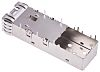 TE Connectivity SFP+ Series Single Port SFP Cage,