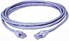 HellermannTyton Grey Cat6 Cable STP LSZH Male RJ45/Male