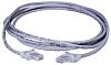 HellermannTyton Grey LSZH Cat5e Cable STP, 3m Male