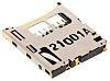 Molex Steckverbinder für Speicherkarten, 1.1mm, 8-polig, 1-reihig, Female, Rechtwinklig, MicroSD, Oberflächenmontage