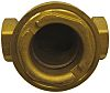 RS PRO Brass Sight Glass Non Return Valve 1/2 in BSP