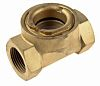 RS PRO Brass Sight Glass Non Return Valve