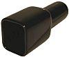 Deutsch Receptacle Cable Boot Black, Plastic
