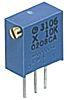 Bourns Trimmer potenciométer 1kΩ, ±10%, ±100ppm/°C, 25-menetes, Furatszerelt, 0.5W, Forrasztható érintkezőtüske PV36