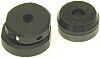 Hirose Cable Clamp Black Screw Aluminium Alloy, Brass,