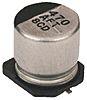 Panasonic 68μF 25V dc Aluminium Electrolytic Capacitor, Surface