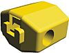 TE Connectivity Tap Splice Connector, Yellow, Insulated, Tin