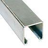 Unistrut 41 x 41mm Single Galvanised Steel Strut,