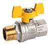 RS PRO Brass High Pressure Ball Valve 1/2