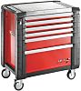 Facom 6 drawer Steel WheeledTool Chest, 964mm x