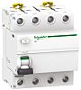 Schneider Electric 4P Pole Residential RCCBs, 63A iID, 30mA