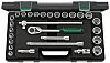 STAHLWILLE 96031407, 28 Pieces Socket Set 1/2 in