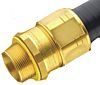 Kopex Straight Cable Gland, Brass 16mm nominal size