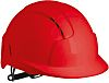 JSP EVOLite Schutzhelm, ABS Rot, belüftet