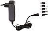 Egston 12V dc Plugtop strømforsyning, Switch-mode strømforsyning, 1A, 12W, EU-stik