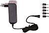 Egston 24V dc Plugtop strømforsyning, Switch-mode strømforsyning, 1.25A, 30W, EU-stik