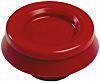 Kör alakú Polipropilén, Hőre lágyuló műanyag Kábelgyűrű, 3.5mm Vörös, Ø: 9 → 17mm 0.8mm 25mm