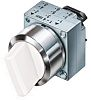 Siemens 2 Position 50° Rotary Switch, Knob, Spring