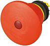Eaton Mushroom Iluminated Red - Latching, M22 Series, 22mm Cutout, Round