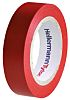 HellermannTyton Red PVC Electrical Insulation Tape, 15mm x 10m