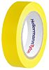 HellermannTyton Yellow PVC Electrical Insulation Tape, 15mm x 10m