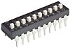 10 Way Through Hole DIP Switch SPST, Extended,