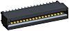 TE Connectivity, Standard Edge IIPCBEdge Connector, 17 Way,