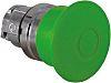 Schneider Electric Flush Illuminated Green Push Button Head