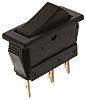 Arcolectric C1520ALAAEB Wippschalter Einpoliger Ein/Aus-Schalter (SPST), Ein-Aus-Ein, 16 A, IP 40