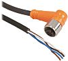 Telemecanique Sensors M12 4-Pin Cable assembly, 5m Cable