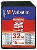 Verbatim 32 GB SDHC SD Card