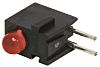 Bivar H100CRD, Red Right Angle PCB LED Indicator,
