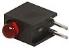 Bivar H101CHD, Red Right Angle PCB LED Indicator,