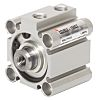 SMC Pneumatic Compact Cylinder 32mm Bore, 35mm Stroke,
