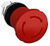 ABB Panel Mount Mushroom Head Emergency Button -