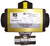 RS PRO Ball Pneumatic Valve, 2 in BSP
